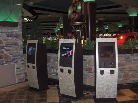 Foxwoods Resort Casino Promotions Kiosk